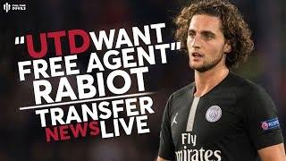 Rabiot To United? Lukaku Latest! | Man Utd Transfer News