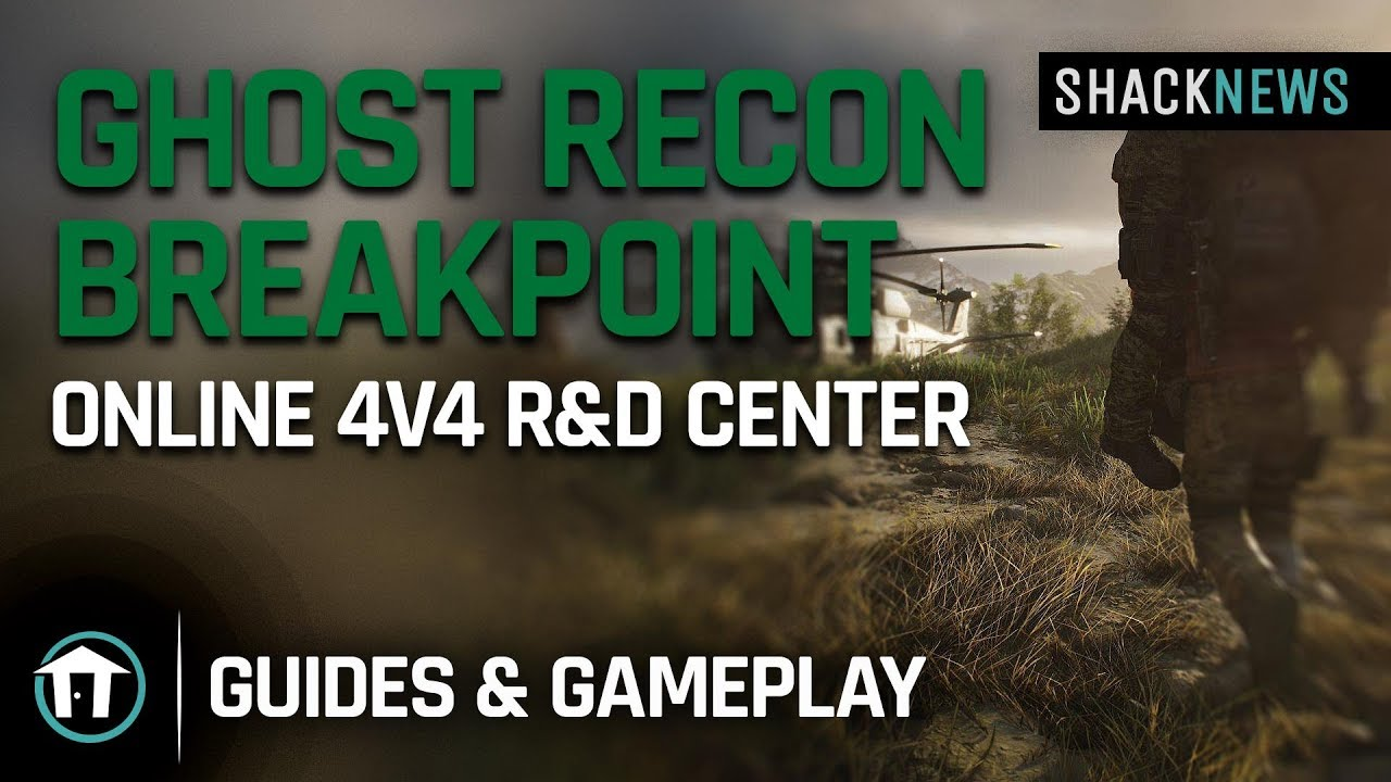 Ghost Recon Breakpoint Online 4v4 R D Center Map Youtube