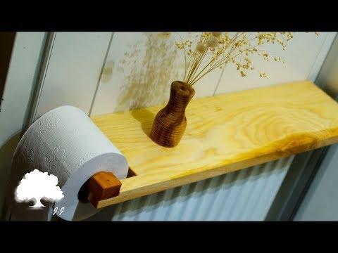 Toilet Paper Holder DIY