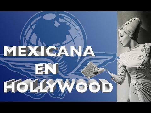 Una de las primeras actrices mexicanas en Hollywood