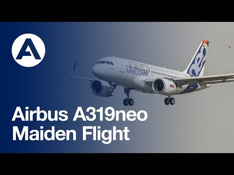 Airbus' A319neo takes to the skies