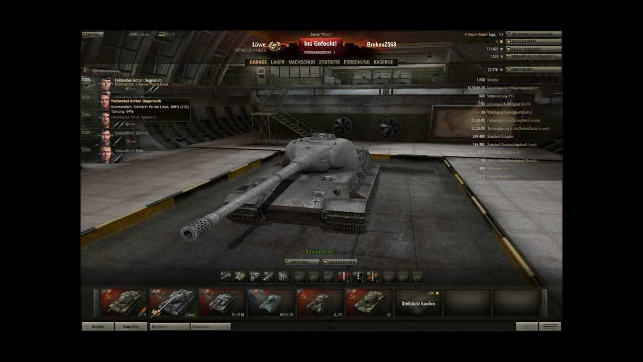 world of tanks deutsch hd premium konto anf ngerfragen doovi. Black Bedroom Furniture Sets. Home Design Ideas