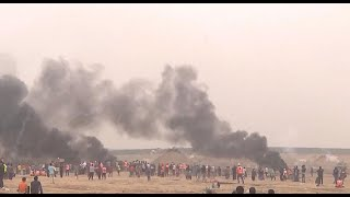 Gaza border clashes intensify ahead of controversial embassy relocation