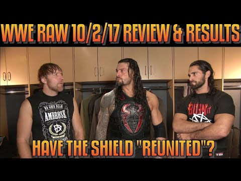 WWE Raw 10217 Full   & Results: HAVE THE SHIELD REUNITED? KALISTO CONFRONTS ENZO AMORE