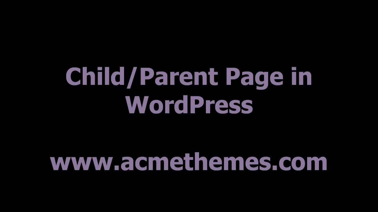 how to create about page in wordpress