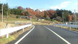 国道114号から国道115号線へ[飯野町→霊山町]