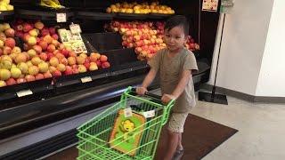 Whole Foods Kids Mini Shopping Cart