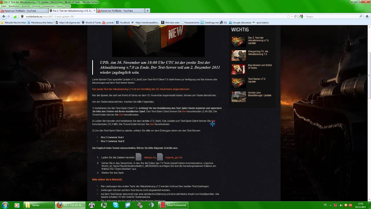World Of Tanks Test Server InstallierenGerman YouTube - Minecraft server erstellen gute frage