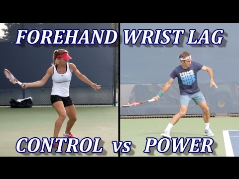 Tennis Forehand Drop Techniques - Control Vs Power