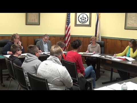 Champlain Village Board Meeting  11-4-19
