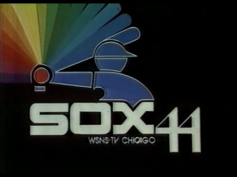 WSNS Channel 44 - Chicago White Sox Vs. California Angels (Final Game of Season, 1980)