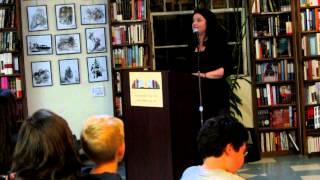 Dina Santorelli at Book Revue in Huntington, N.Y. (Long Island)