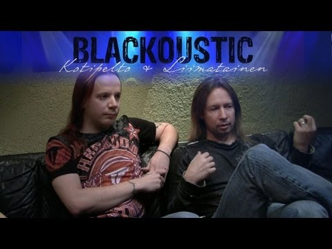 "Kotipelto & Liimatainen ""BLACKOUSTIC"" Album Track by Track Interview"
