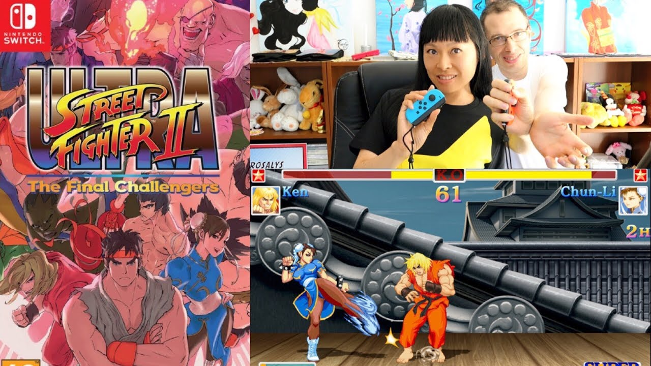 GAMEPLAY en couple Ultra Street Fighter II 1
