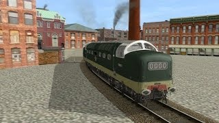 New Deltics leave Vulcan foundry (trainz 2012) LOCO TV UK.