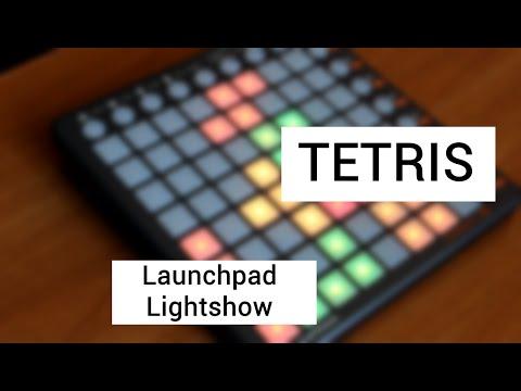 Tetris - Launchpad LightShow (Doctor P Remix)