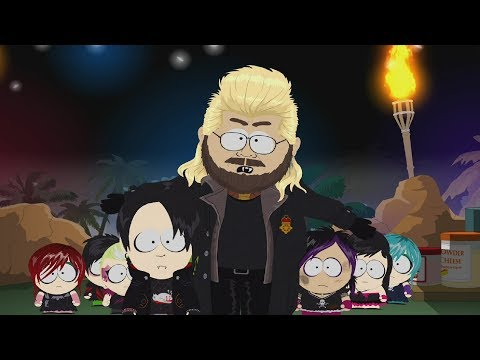 South Park: The Fractured But Whole DLC  Master Vampire Kiefer Sutherland Boss Fight