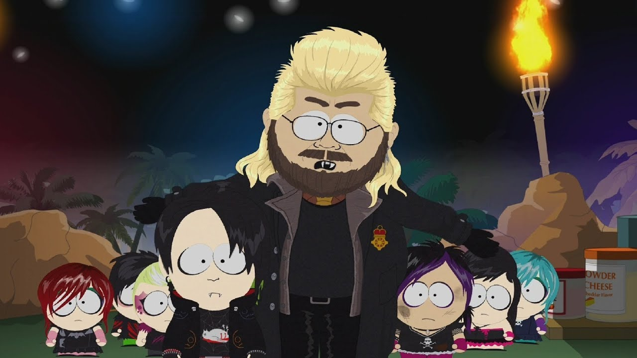 South Park: The Fractured But Whole DLC - Master Vampire Kiefer Sutherland Boss Fight