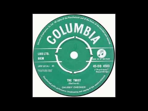 "Chubby Checker - ""The Twist"" (UK Columbia) 1960"