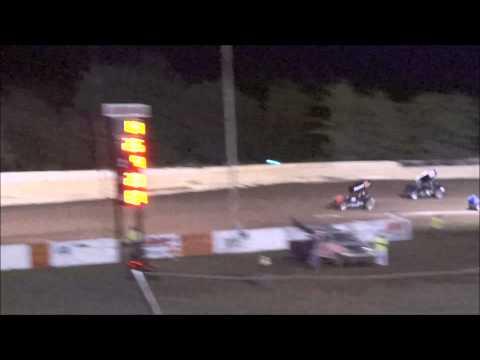 Creek County Speedway - Champ Sprint Main - 4/18/15