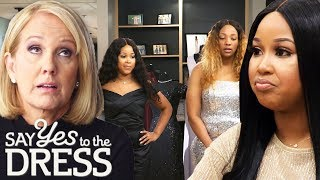Twin Sister Wants Her Dress To Be 100% Different Than Her Bridesmaid's |Say Yes To The Dress Atlanta