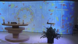 Pantalla gigante en funerales de Barcelona