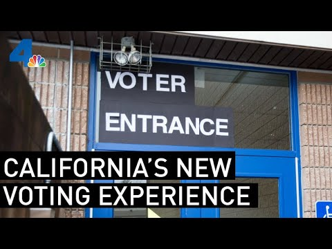 LA County's Totally New Voting Experience | NewsConference | NBCLA