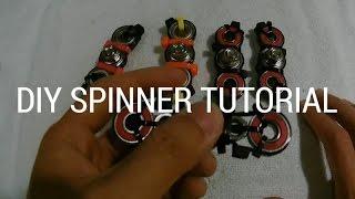 1 diy hand spinner bar fidget toy not 3d printed
