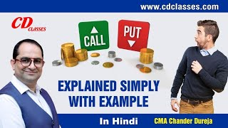 Call and Put Option Meaning with example II CA Final SFM II CMA Final SFM II 9717356614
