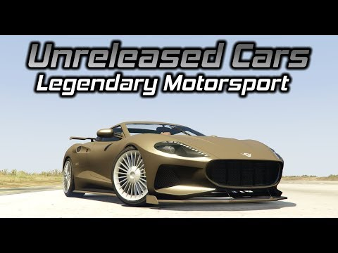 GTA Online: Unreleased Legendary Motorsport Cars Gameplay (Engine Sounds, Handling, Customization)