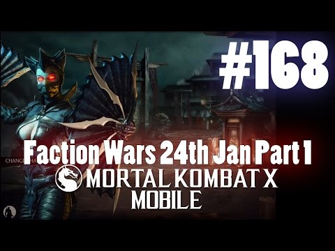 Faction Wars 24th Jan Part 1! - Mortal Kombat X Mobile Gamep
