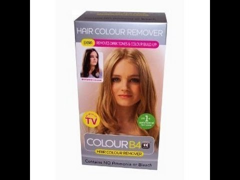 revue colour b4 ou comment retir une coloration youtube - Coloration Ton Sur Ton Blond