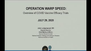 July 2020 ACIP Meeting - Overview of COVID-19 vaccine clinical trials