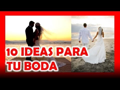Ideas originales para bodas youtube - Ideas super originales para bodas ...