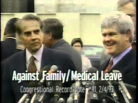 Clinton/Gore 1996 campaign ad--Bob Dole