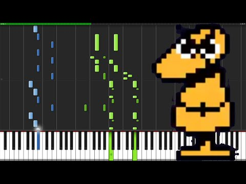Dummy! - Undertale [Piano Tutorial] (Synthesia)