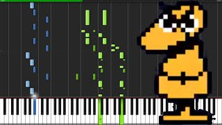 Video Dummy! - Undertale [Piano Tutorial] (Synthesia) download MP3, 3GP, MP4, WEBM, AVI, FLV September 2017