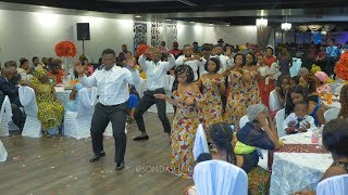 Beautiful Congolese Wedding Entrance Dance