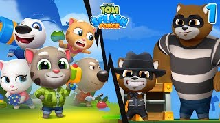 TALKING TOM SPLASH FORCE #1 | EPISODIO 1 | Gameplay