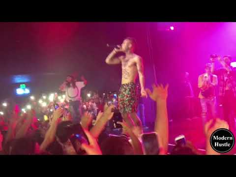 Lil Skies - Nowadays Ft. Landon Cube (LIVE in OC) BOTH TAKE OFF THEIR SHIRTS!!!