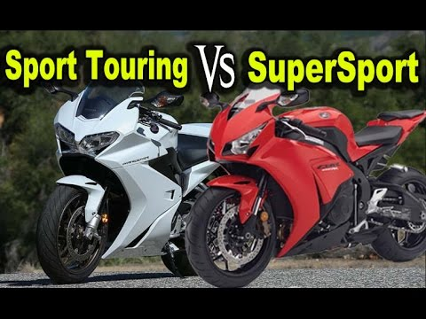 Supersport Vs Sport Touring Motorcycle
