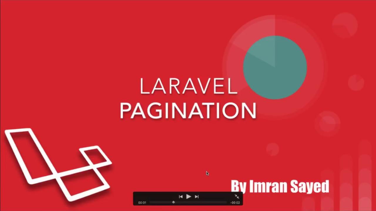 Pagination In Laravel 5 6 #16