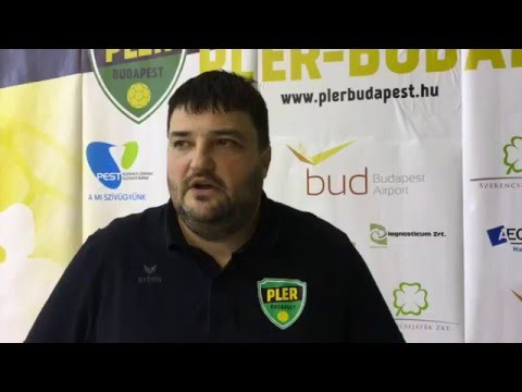 Hutvágner István interjú (PLER Budapest - Kőnig Trade Balmazújváros 2016.03.25.)