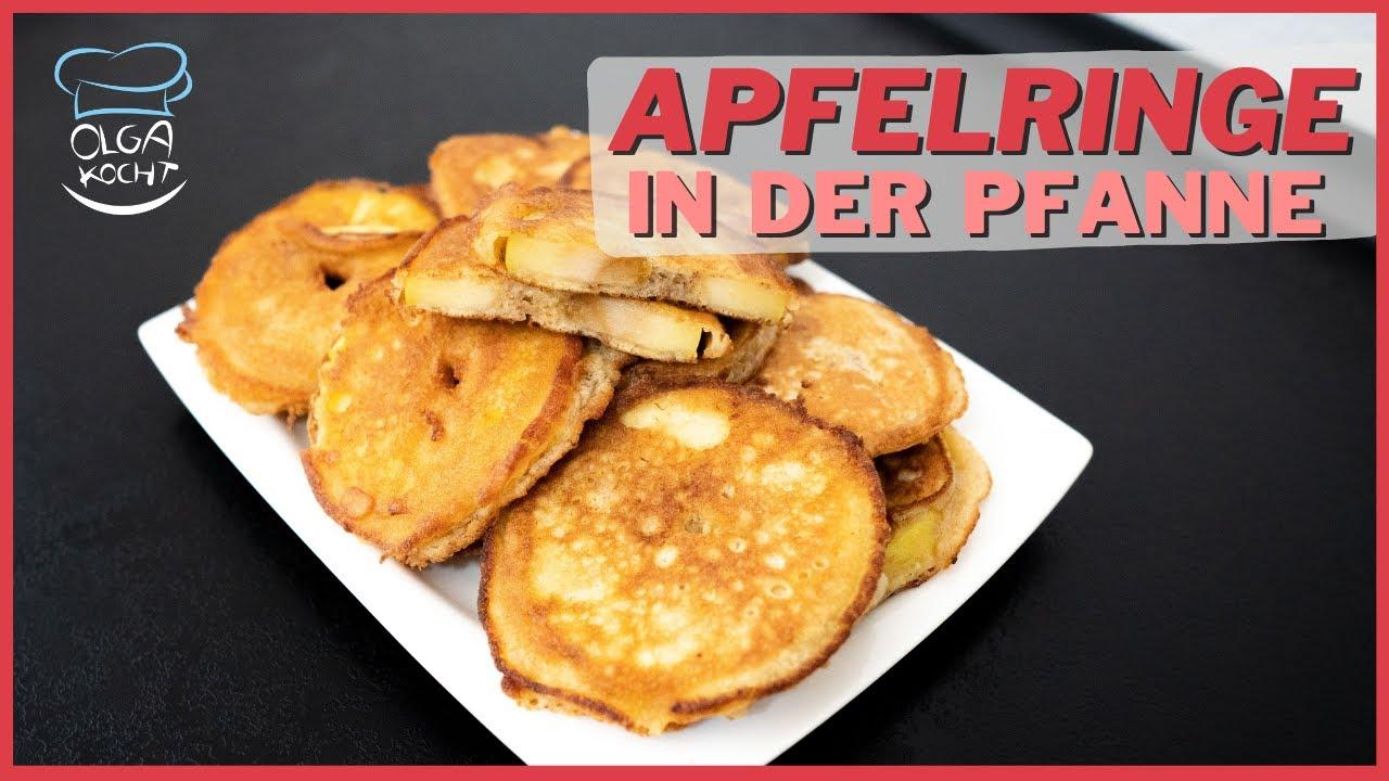 Apfelringe im Teigmantel aus der Pfanne - Jede Apfel Sorte geht für dieses Rezept