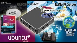 NaNo PC Server Billing Hotspot 16GB