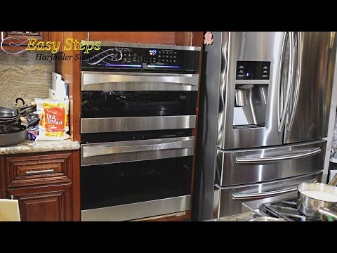 DIY Project - How to Install Wall OVEN   GE Monogram   Kenmore ELITE