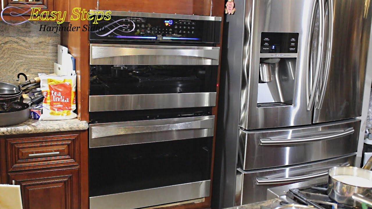DIY Project - How to Install Wall OVEN | GE Monogram | Kenmore ...