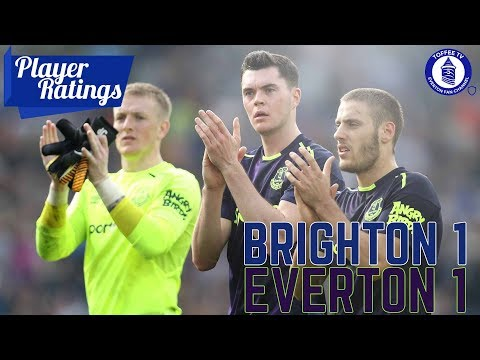 Brighton HA 1-1 Everton | EFC Player Ratings
