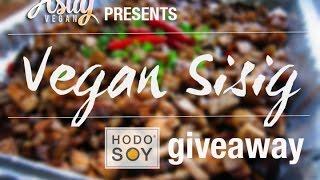 Vegan Filipino: How To Make Vegan Sisig + Giveaway (closed)