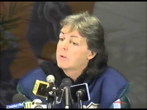 Paul McCartney Toronto Press Conference,1989